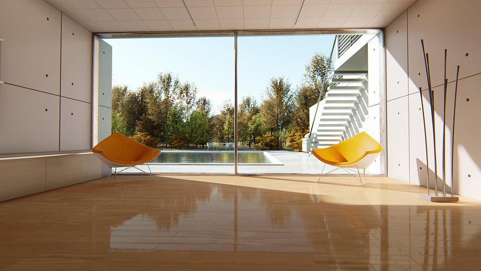 pool house moderne toit plat prix