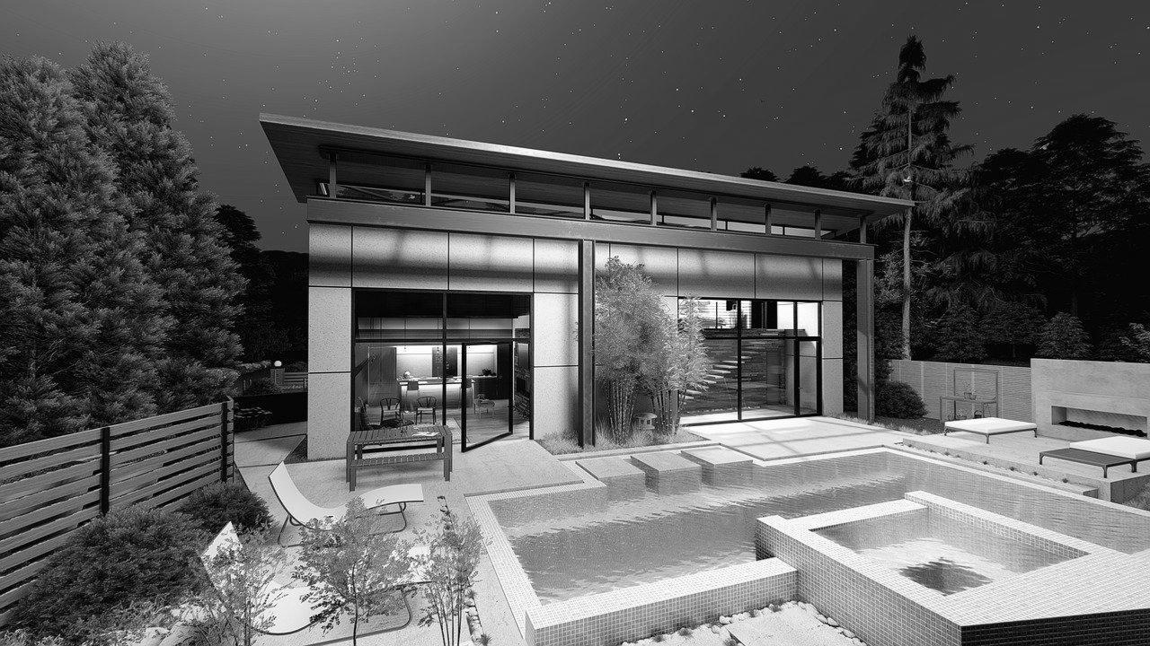 pool house moderne Calvados 14