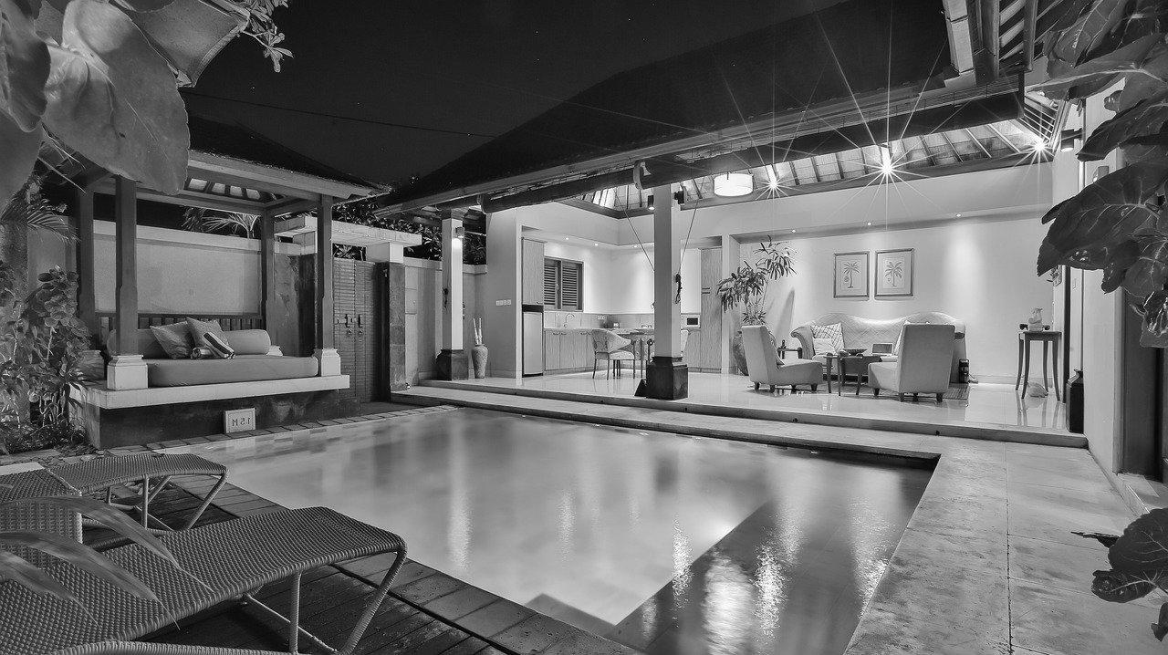 pool house moderne Dordogne 24