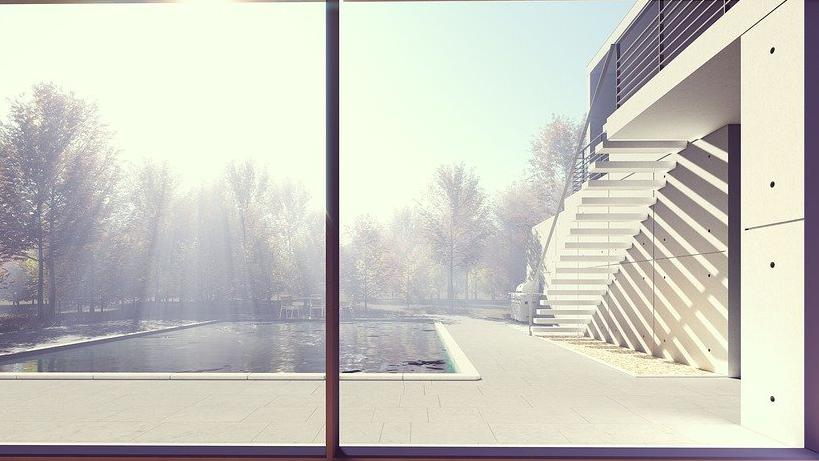 pool house moderne Haute-Savoie 74