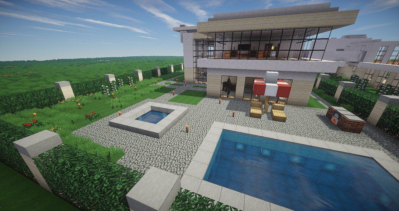 Pool house moderne Hautes-alpes 05