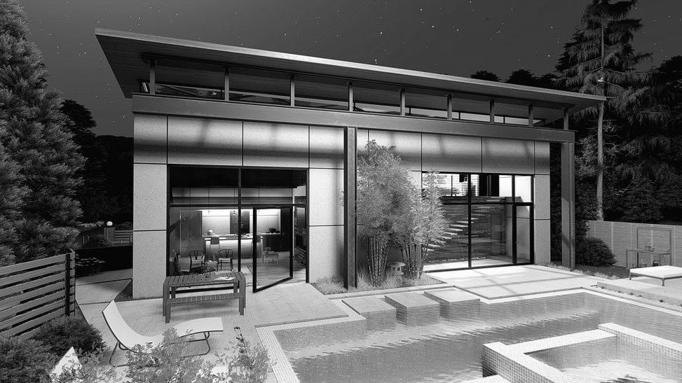 pool house moderne Lozère 48
