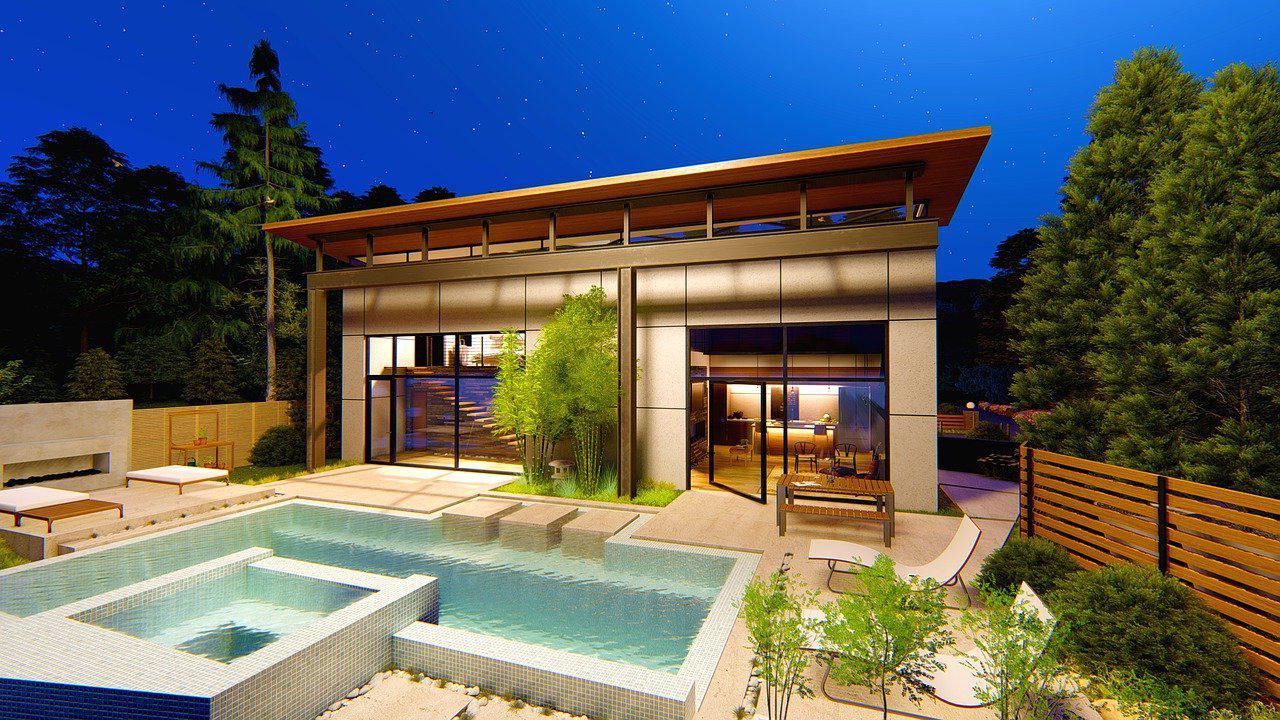Pool house moderne Meurthe-et-moselle 54