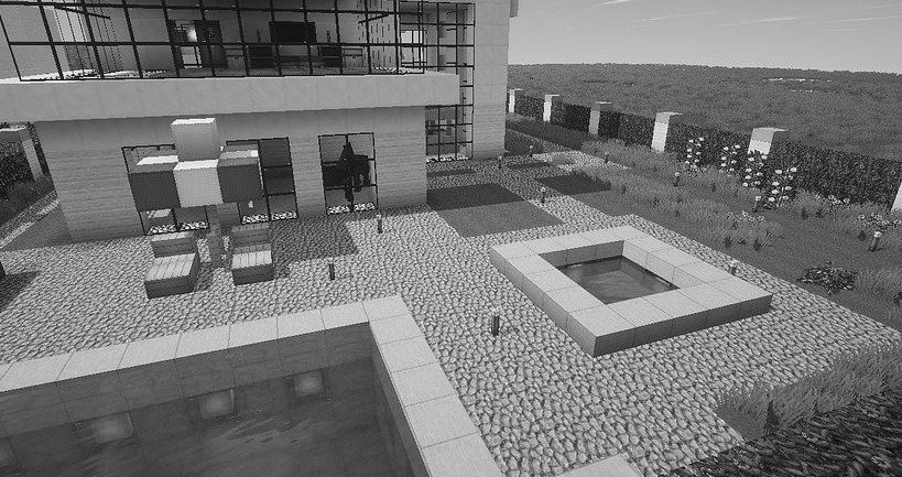 pool house moderne Meuse 55