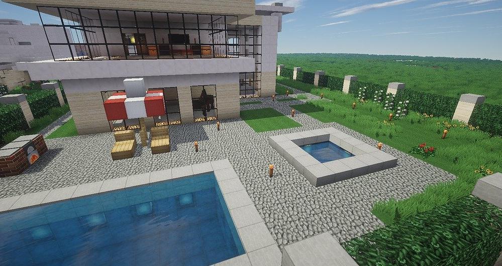 Pool house moderne Savoie 73