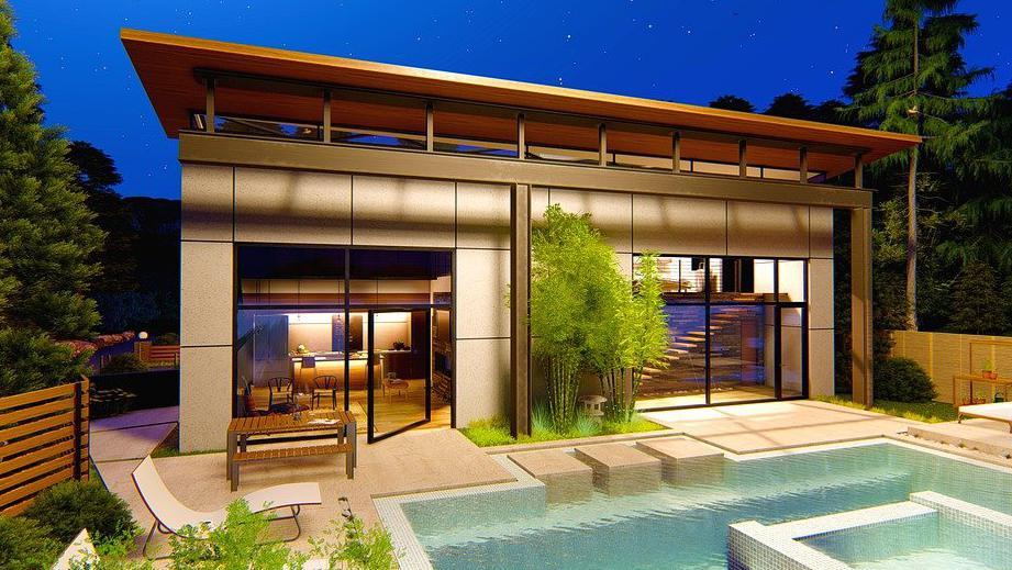 Pool house moderne Seine-maritime 76