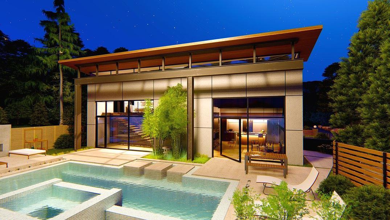 pool house moderne Val-de-Marne 94