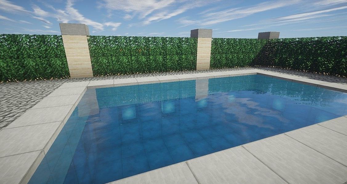 pool house moderne Yvelines 78